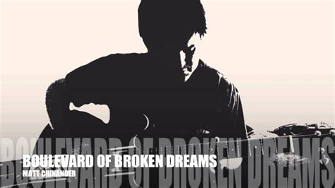 Boulevard of Broken Dreams (Acoustic Cover) - YouTube