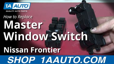 How to Replace Master Power Window Switch 98-04 Nissan