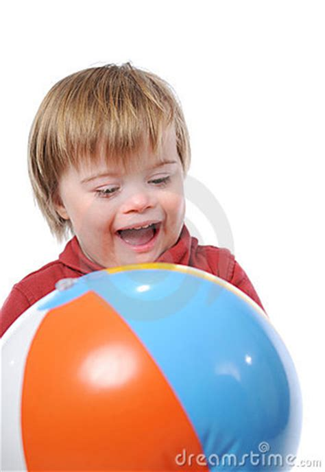 Child With Down Syndrome Royalty Free Stock Photography